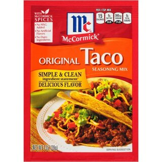 McCormick - Original Taco Seasoning Mix - 28 g
