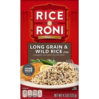 Rice a Roni - Long Grain & Wild Rice - 122 g