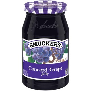 Smuckers Concord Grape Jelly - Glas - 12 x 510g