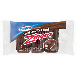 Hostess - Zingers Iced Devils Food - 108g