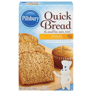 Pillsbury - Quick Bread & muffin Mix Banana - 396g