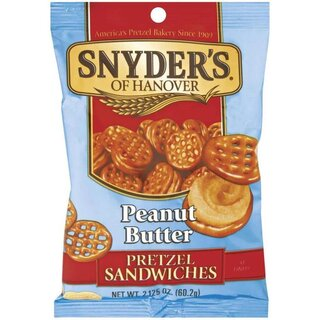 Snyders of Hanover - Peanut Butter Prezel Sandwiches - 1 x  60,2g