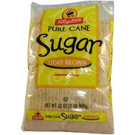 Pure Cane - Sugar - Light Brown - 1 x 907 g