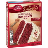 Betty Crocker - Super Moist - Red Velvet Cake Mix - 1 x...