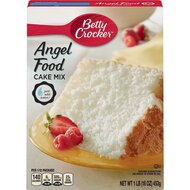Betty Crocker - Super Moist - White Angel Food Cake Mix -...