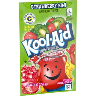 Kool-Aid Drink Mix - Strawberry-Kiwi  - 1 x 4.8 g