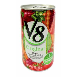 V8 - Vegetable Juice  - 1 x 163 ml