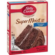 Betty Crocker - Super Moist - Chocolate Fudge Cake Mix -...