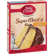 Betty Crocker - Super Moist - Yellow Cake Mix - 1 x 432 g