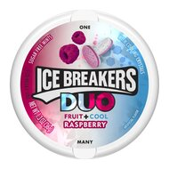Ice Breakers Duo Fruit + Cool Raspberry - 1 x 36g