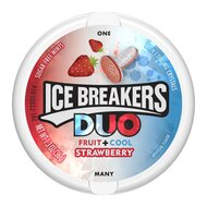 Ice Breakers Duo Fruit + Cool Strawberry - 1 x 36g