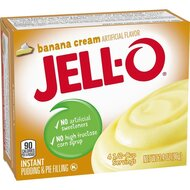 Jell-O - Banana Cream Instant Pudding & Pie Filling - 1 x...