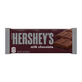 Hersheys Milk Chocolate - 1 x 43 g