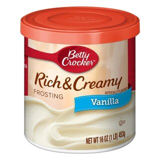 Betty Crocker - Rich & Creamy - Vanilla Frosting - 1 x 453 g
