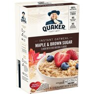 Quaker Instant Oatmeal - Maple & Brown Sugar - 1 x 430g