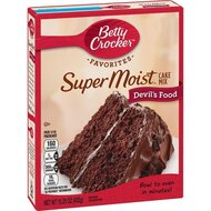 Betty Crocker - Super Moist - Devils Food Cake Mix - 1 x...
