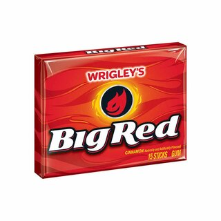 Wrigleys Big Red - Zimt Kaugummi - 8 x 15 Stück