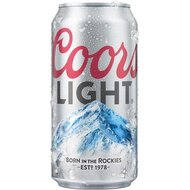 Coors Light - 1 x 355 ml