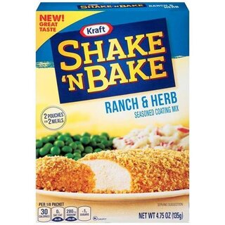 Kraft - Shake n Bake - Ranch & Herb - 1 x 135 g