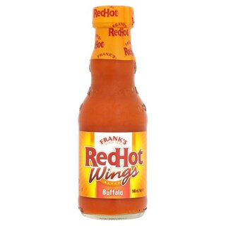 Franks Red Hot Wings Sauce Buffalo (148g)