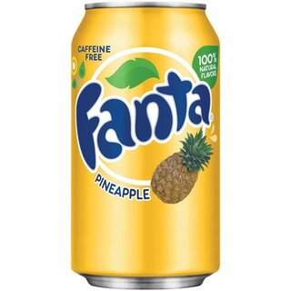 Fanta - Pineapple - 1 x 355 ml