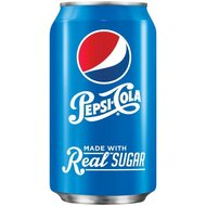 Pepsi - Cola made with real Sugar - 1 x 355 ml
