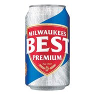 MILWAUKEES - BEST Premium Beer - 1 x 355 ml