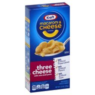 Kraft - Macaroni & Cheese Dinner Three Cheese - 1 x 206 g