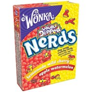 Wonka Double Dipped Nerds - lemonade wild cherry, apple...