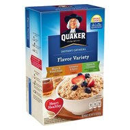 Quaker Instant Oatmeal - Flavor Variety - 1 x 430g