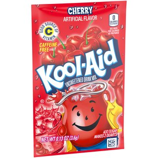 Kool-Aid Drink Mix - Cherry  - 1 x 3.6 g