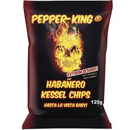 Pepper-King Habanero Kessel Chips - 1 x 125g