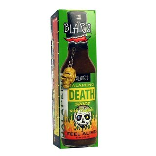 Blairs Jalapeno Death Sauce With Tequila - 1 x 150ml