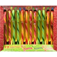 Jelly Belly Gourmet Candy Canes - Very Cherry, Green...