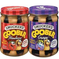 Smuckers Goober Variety Pack ( Grape & Strawberry) - Glas...
