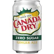 Canada Dry - Diet Ginger Ale - 1 x 355 ml